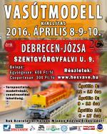 VIII. Vasútmodell kiállítás Debrecen - Józsán