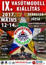 IX. Nemzetközi Vasútmodell kiállítás Debrecen - Józsán