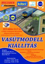 Vasútmodell kiállítás, Szolnok, VOKE műv központ
