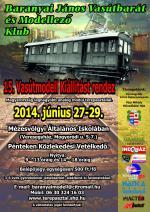 15. vasútmodell kiállítás Veresegyház