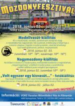 2018. Nyíregyháza mozdonyfesztivál